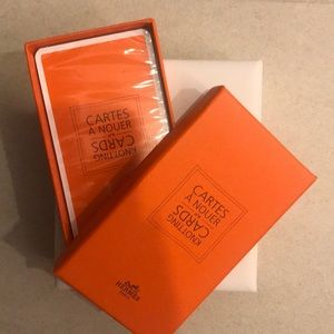Hermes NEW Scarf Knotting Cards AUTHENTIC & NIB